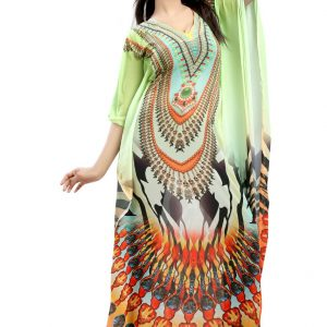 Digital Printed Stylish Kaftans