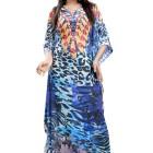 Blue Print Kaftan