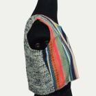 Cotton Sleeveless Multi color Short Jacket
