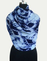 Cashmere silk Tie Dye Scarf