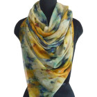 Pure wool Digital Printed Scarf