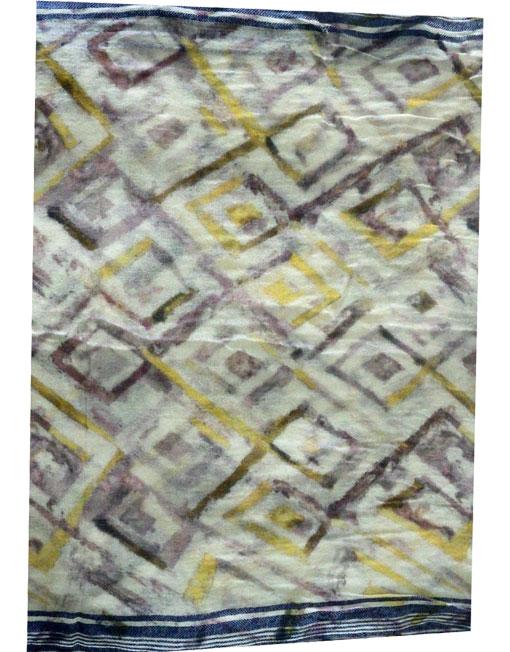 Pure wool Digital Geometrical Printed Scarf