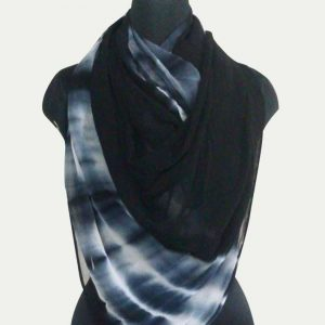 Pure Viscous Tie Dye Georgette Scarf