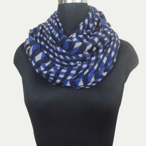 Cashmere silk Screen Printed Scarf