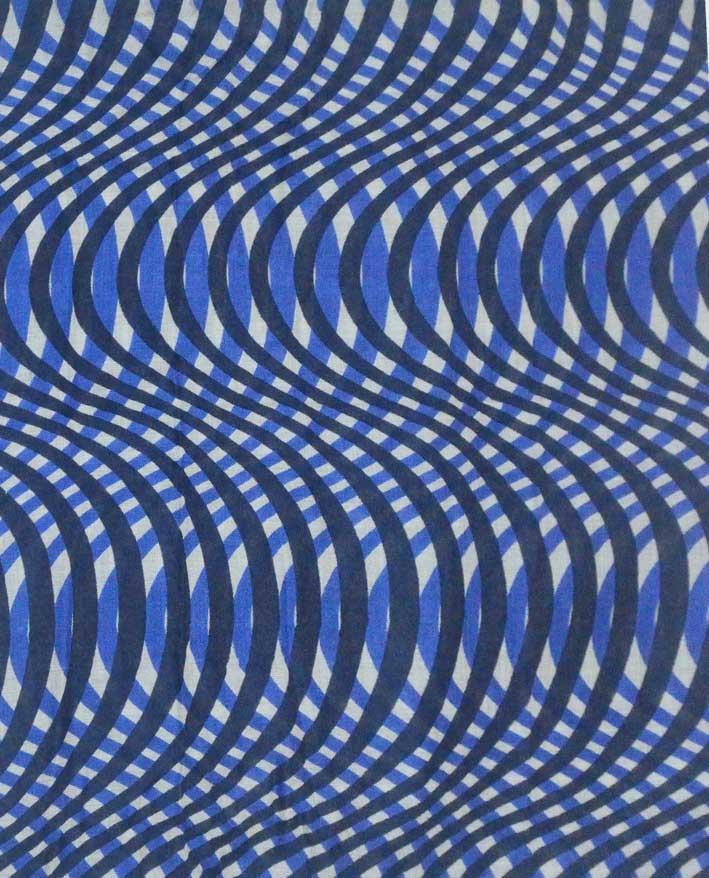 Cashmere silk Screen Printed Scarf